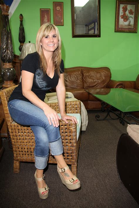 Quot Storage Wars Quot Grand Opening Of Now And Then Secondhand Store Storage Wars Brandi Passante
