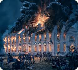 white house burned down was the famous american white house burned down in 1814
