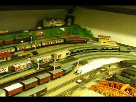 rails layout guide a tour round my hornby dublo 3 rail layout youtube