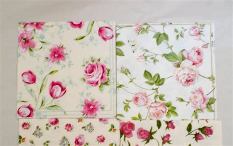 Decoupage Paper Napkins Technique - decoromana paper napkins for decoupage also known as a