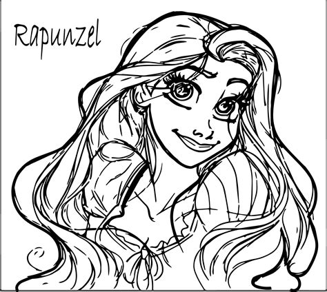 rapunzel coloring pages easy 70 tangled coloring pages tangled rapunzel coloring