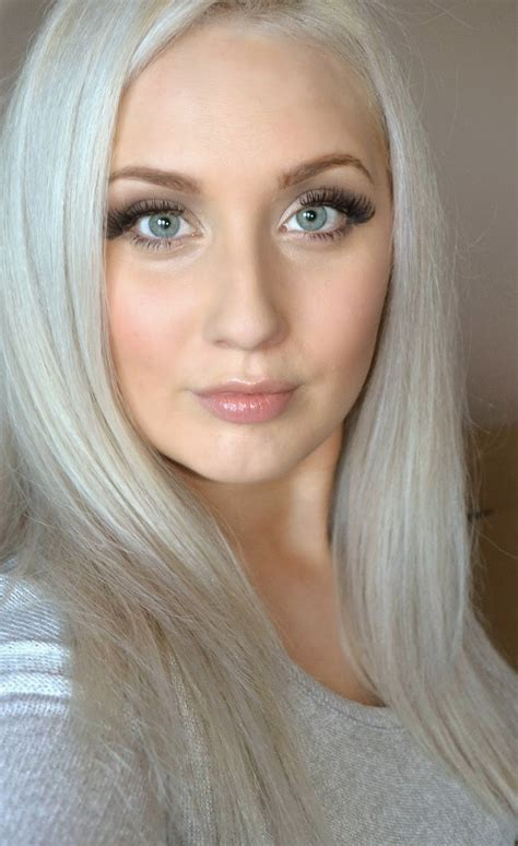 silvery blonde hair dye from our archives hair color inspiration concrete silver
