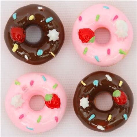 cute donut pictures cute donuts miniature deco kawaii 2 pcs miniature items