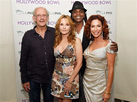 actress thompson in back to the future back to the future anniversary celebrated with cast