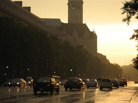Rapid Detox Centers In Washington Dc by Washington D C Sunset It S Actually Raining In