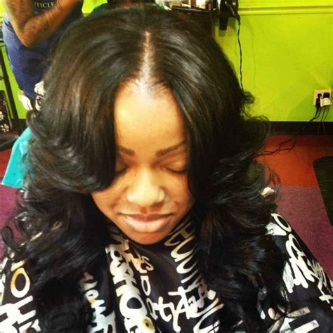 how to layer curly hair in a sew in 254 best long hair don t care images on pinterest bob