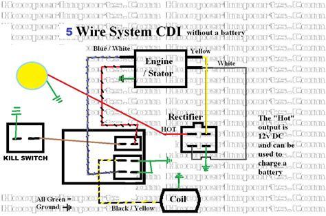 chinese dc cdi wiring diagram  pin  pins cdi box  linhai xingyue buyang jonway cc