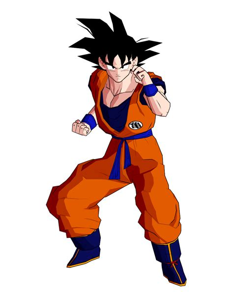 imagenes de goku en 3d goku render 3 by dev ot on deviantart
