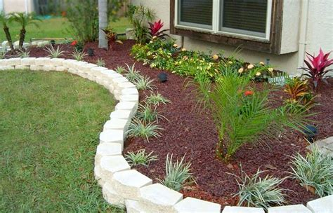 stone flower bed border landscaping border stones good stone edging with