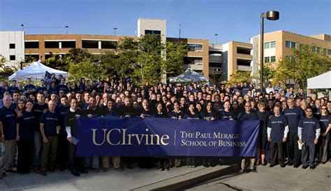 Uc Irvine Mba by Business School Renamed For Paul Merage Uc Irvine 50th