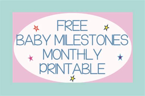 baby month card template baby s moments to record baby milestones