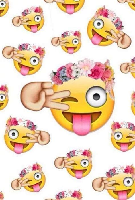 wallpaper whatsapp we heart it emoji background tumblr emojis via facebook em we