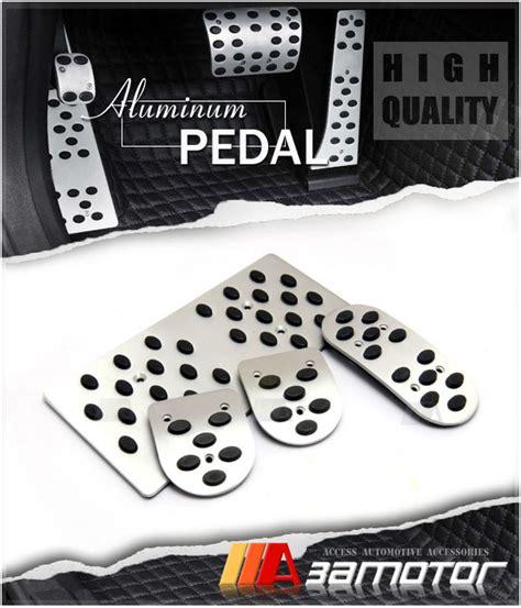 Pedal Gas Manual Mobil Honda Hrv manual mt circle aluminum sport pedal set gas brake footrest for honda fit jazz ebay