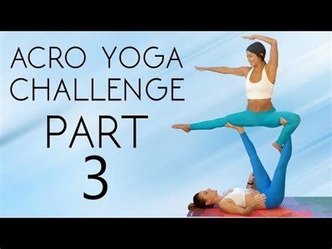 acro yoga tutorial ninja learn a yoga challenge workout to help you master it 20