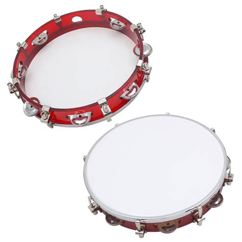 Tambourine Popbytes 2 3 by 10 Quot Musical Tambourine Tamborine Drum Percussion Children
