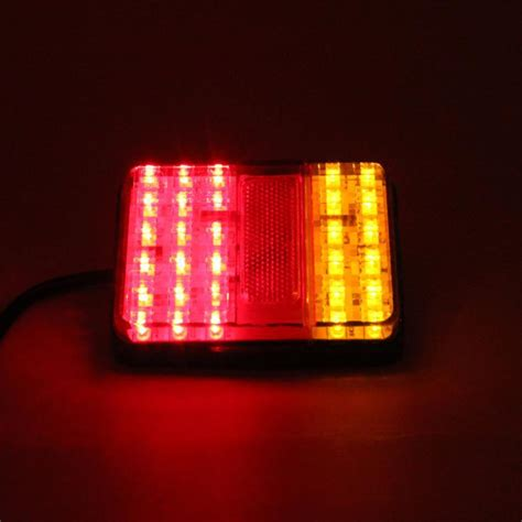Led Truck Lights by 1 Pair 12v 30 Led Truck Trailer Stop Rear Indicator