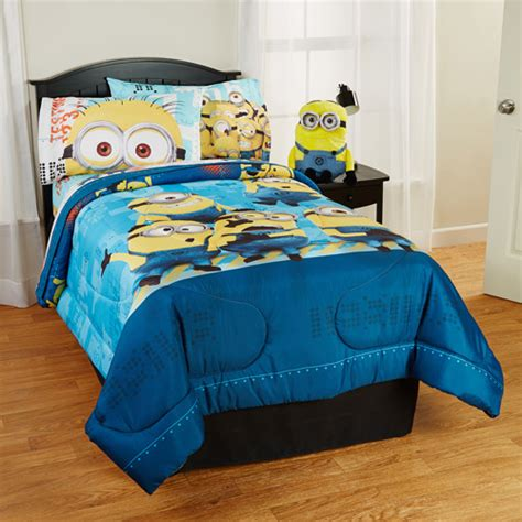 despicable me bedding despicable me minions testing 1234 5 pc bed set images