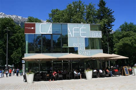 Pavillon Innsbruck by Cafe Bar Pavillon Innsbruck Das Lokal F 252 R Gehobene