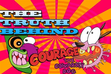 Cartoon Conspiracy Theory The Truth Behind Courage The
