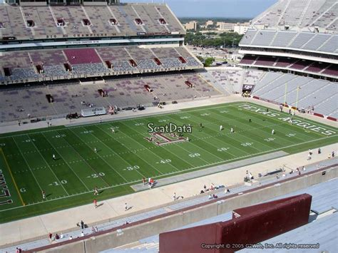 kyle field section map kyle field section 339 seat views seatscore rateyourseats