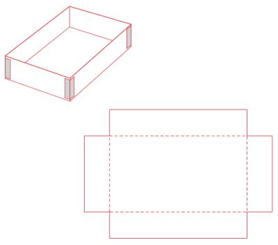 Open Box Template by Open Box Outline Images Search