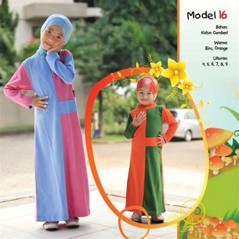 Gamis Mutif 130 Ukuran 6 8 baju muslim gaya diskon tahun baru hijriyah
