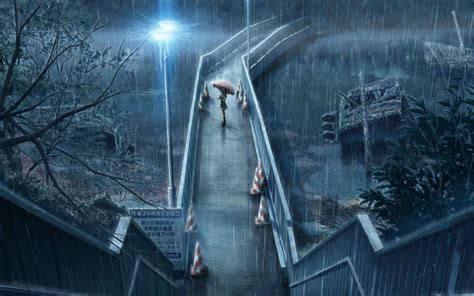 anime girl in the rain wallpaper girl in the rain wallpaper anime wallpaper better