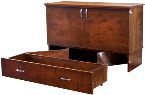 Most Comfortable Murphy Bed This Cabinet Turns Into A Bed In Seconds Living In A Shoebox