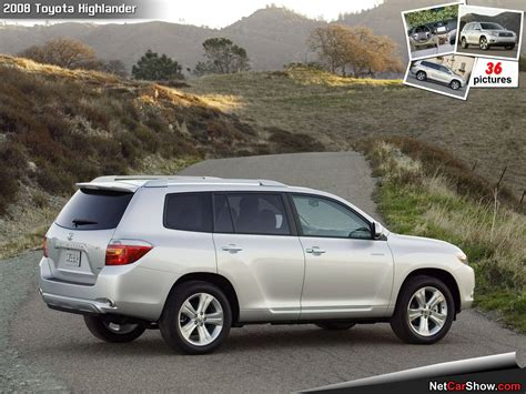 2008 Toyota Highlander Horsepower 2008 Toyota Highlander Pictures Information And Specs