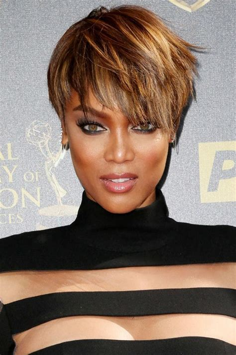 dramatic angel haircuts 25 best ideas about tyra banks short hair on pinterest