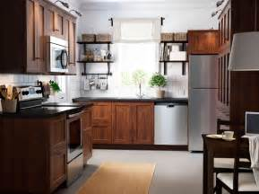 Wooden Cabinets Ikea Kitchen Inspiration