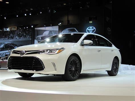 Toyota Avalon 2016 2016 Toyota Avalon Updated At 2015 Chicago Auto Show