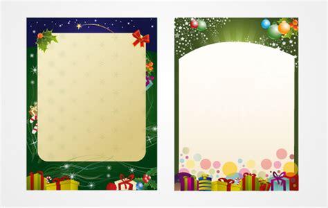 Vom Weihnachtsmann Briefvorlage Weihnachtsmann Briefvorlage Der Kostenlosen Vektor