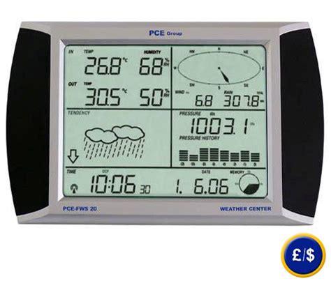 Pce Weather Station Fws 20 Wireless Pce Weather Sta pce fws 20 weather station with touch screen