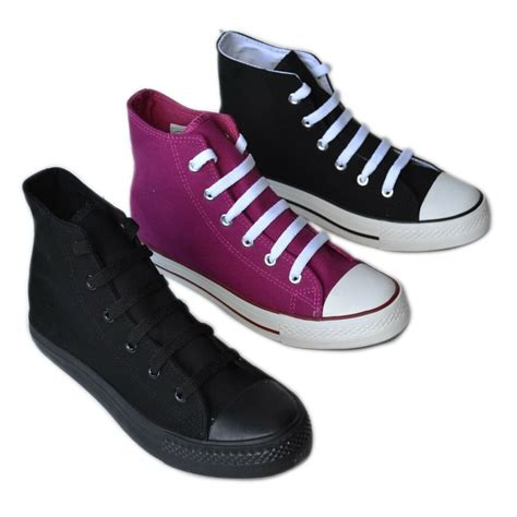 bb flower  women high top canvas sneakers classic
