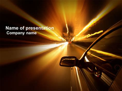 Need For Speed Powerpoint Template Backgrounds 03992 Poweredtemplate Com Speed Powerpoint Template