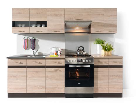 junona line 240 kitchen set black white