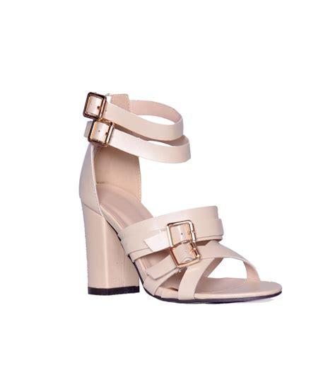 beige high heel sandals heels n wedges beige high heel sandals price in india buy