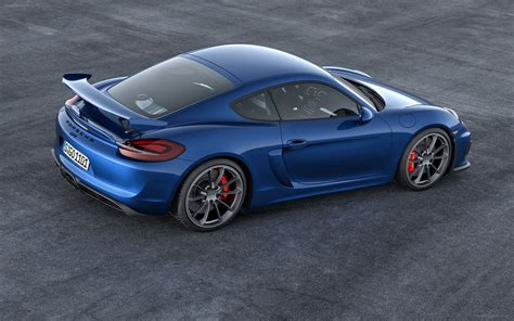 Porsche Cayman Gt4 2015 Widescreen Car Wallpaper