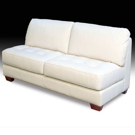 armless settee sofa armless loveseat fontayne settee loveseat blue medallion