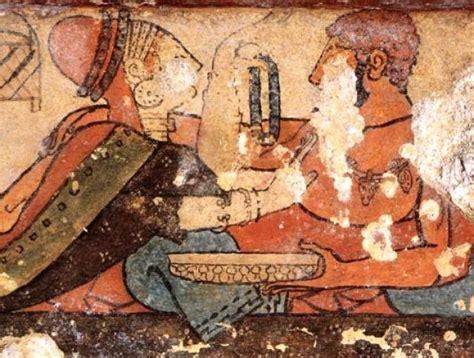 banchetto etrusco banchetto funebre etrusco