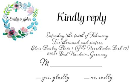 wedding invitation set botanical on behance
