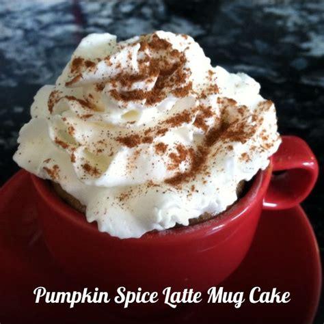 delicious mini pumpkin spice latte mug cake recipe from jeana at surf and sunshine worldmarket