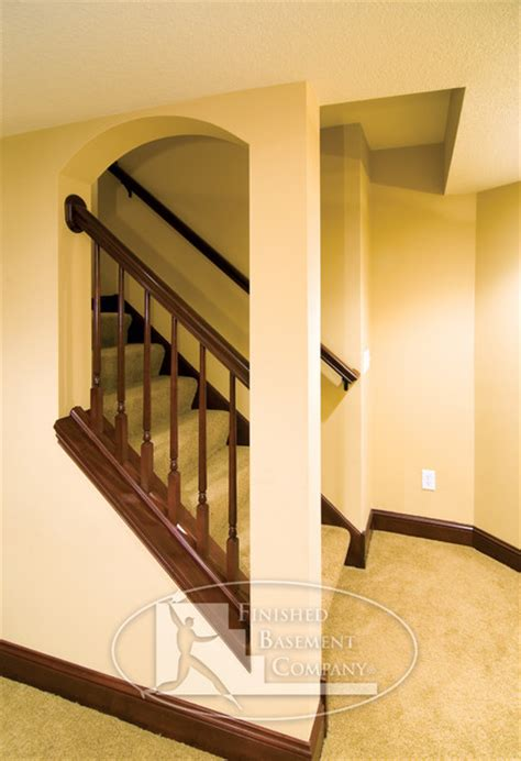 basement stairway traditional staircase minneapolis