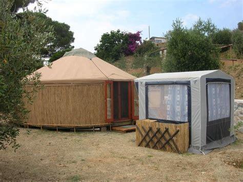 tende yurta yurta e cucinotto foto di cing orti di mare
