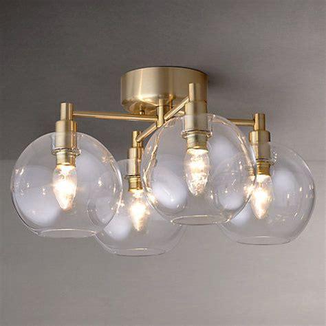 Brass Flush Ceiling Light Deckenle Flush Ceiling Lights Brass Roselawnlutheran