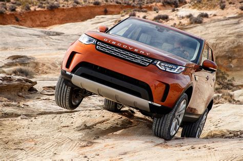land rover discovery road land rover discovery 2017 review by car magazine