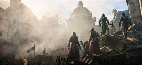 Assassin S Creed Unity Logo 01 Kaos Kaos Pria Kaos Distro assassin s creed 174 unity ubisoft