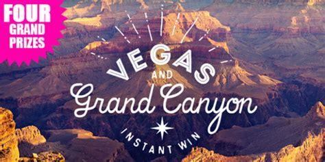 Shop Your Way Instant Win - shopyourway com vegas and grand canyon instant win game