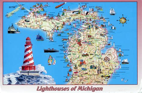 lighthouses map map remembering letters and postcards page 9